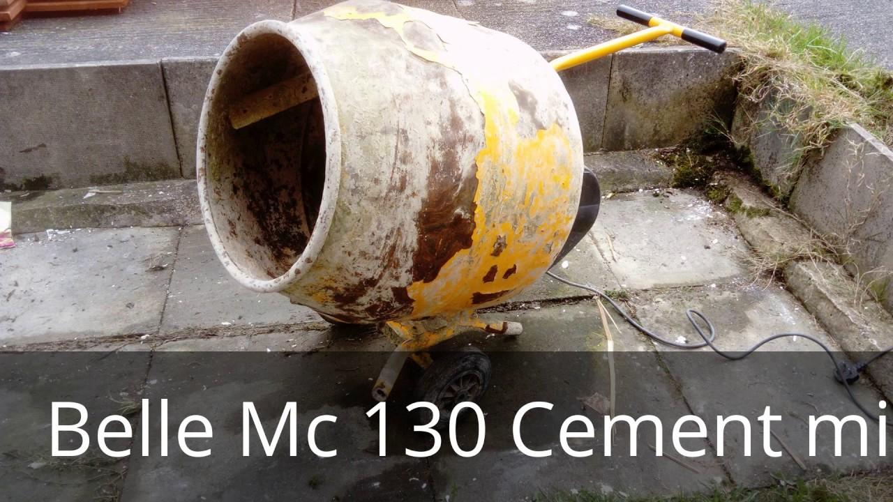 Belle Cement Mixer    Concrete Mixer Repair Mc130  Drum