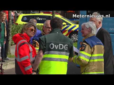 Brand en evacuatie zorgcentrum Zwolle