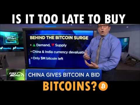 IS IT TOO LATE TO BUY BITCOINS 2017
