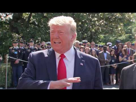 MUST WATCH: President Trump SURPRISE News Conference Outside White House