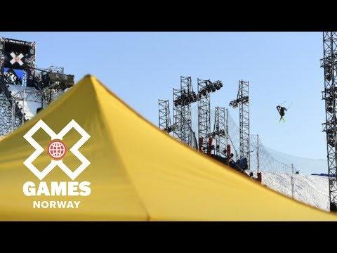 Øystein Bråten wins Men's Ski Big Air bronze | X Games Norway 2018