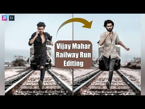 Vijay Mahar Railway Run Photo Editing Full Concept Clear | Photoshop Tutorial | ZS PICTURES thumbnail