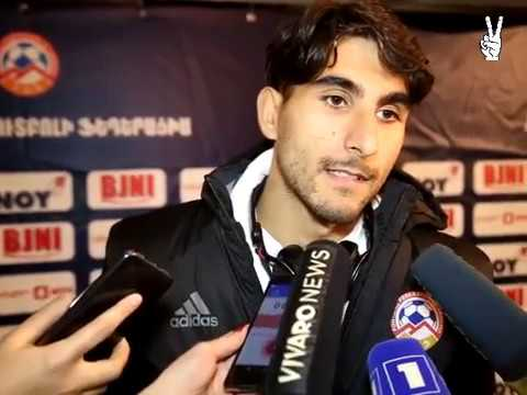 Araz Ozbiliz post-match commentaries || Armenia 4-1 Belarus || Friendly || 09.11.2017