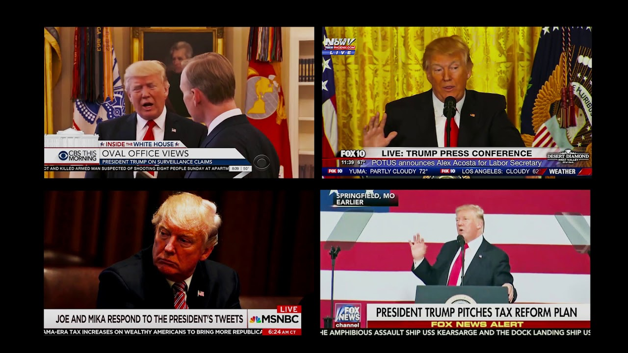 Public Affairs in the time of Trump