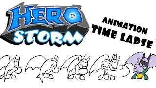 HeroStorm - Time Lapse Animation [Mal'Ganis]
