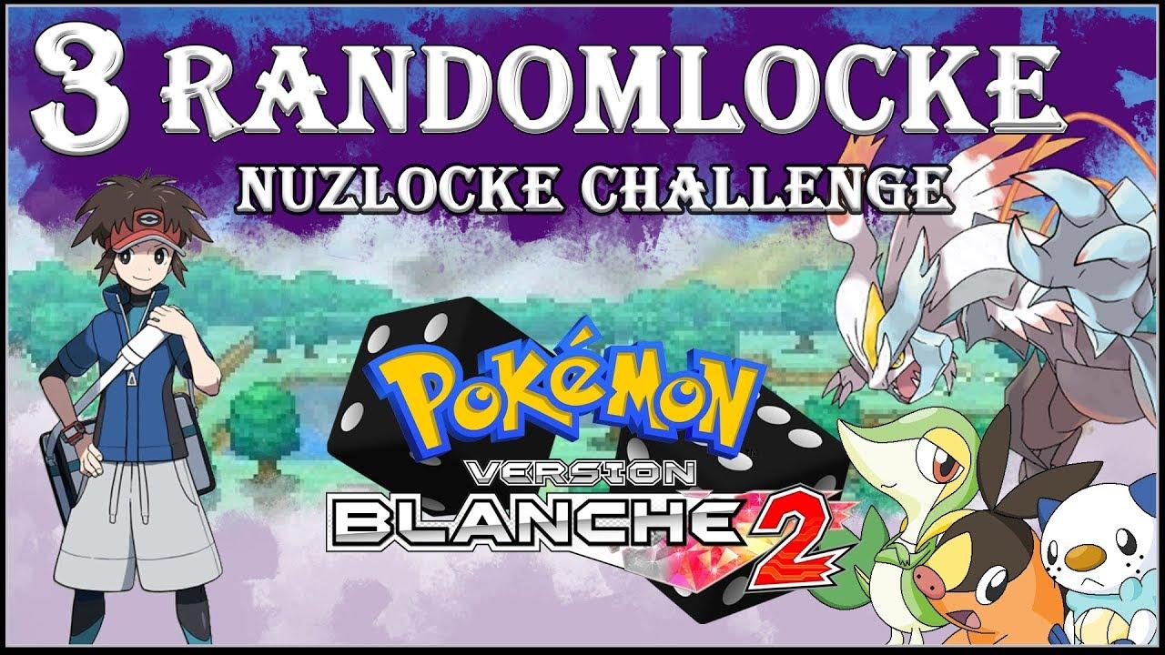 Pokemon Blanc 2 03 Nuzlocke Random Challenge Table Des Types