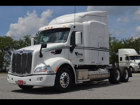 The Little Guy Show. 2015 Peterbilt 579 LNG (Liquid Natural Gas)