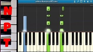 How to Play All of Me On Piano - John Legend - Synthesia Tutorial
