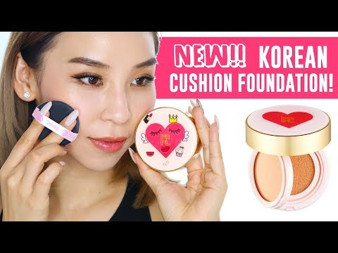 New 2 in 1 Korean Cushion Foundation! Tina Tries It