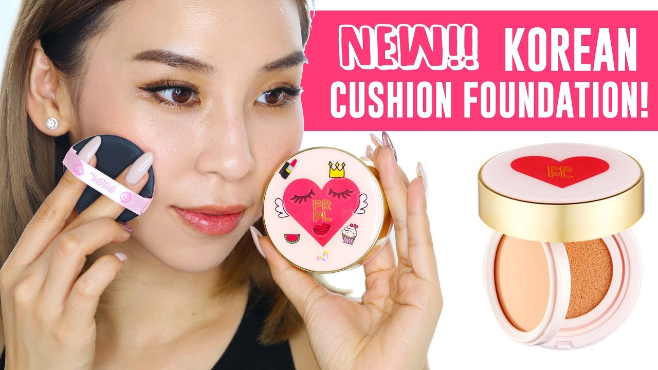 New 2 in 1 Korean Cushion Foundation! Tina Tries It