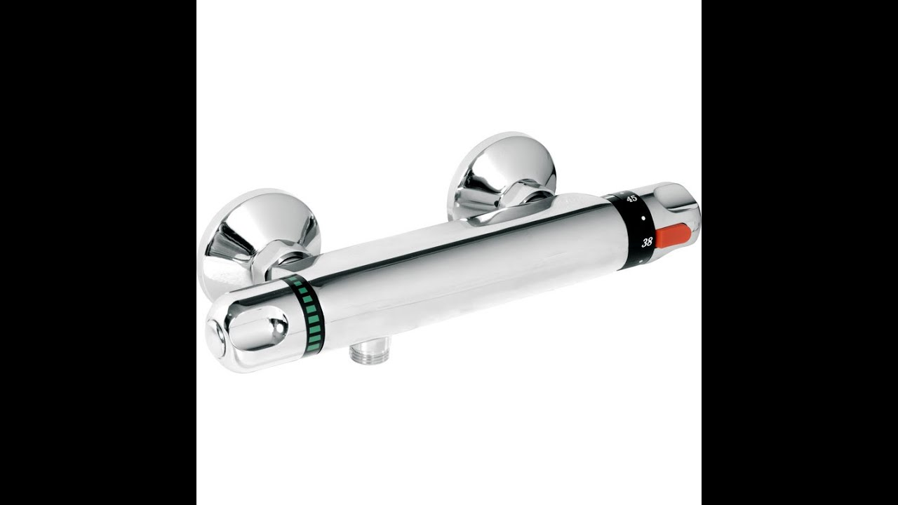Shower Mixer Valve Thermostatic Reviews UK - YouTube