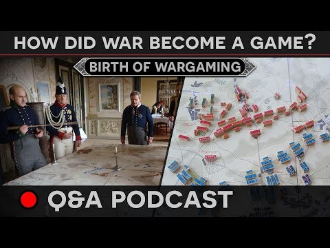 [Q&A Podcast] How Did War Become A Game?