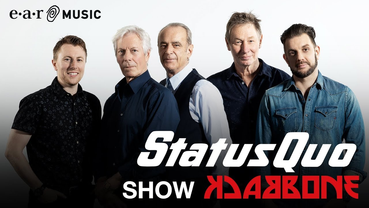 """Status Quo talk about """"Backbone"""" - New studio album out on September 6th"""