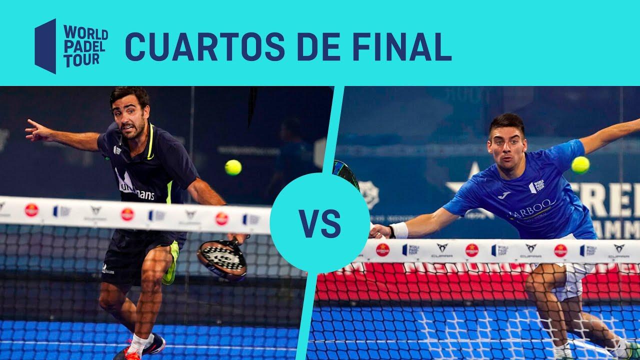 Resumen cuartos de final Paquito/Lima Vs Silingo/Di Nenno Estrella Damm Menorca Open