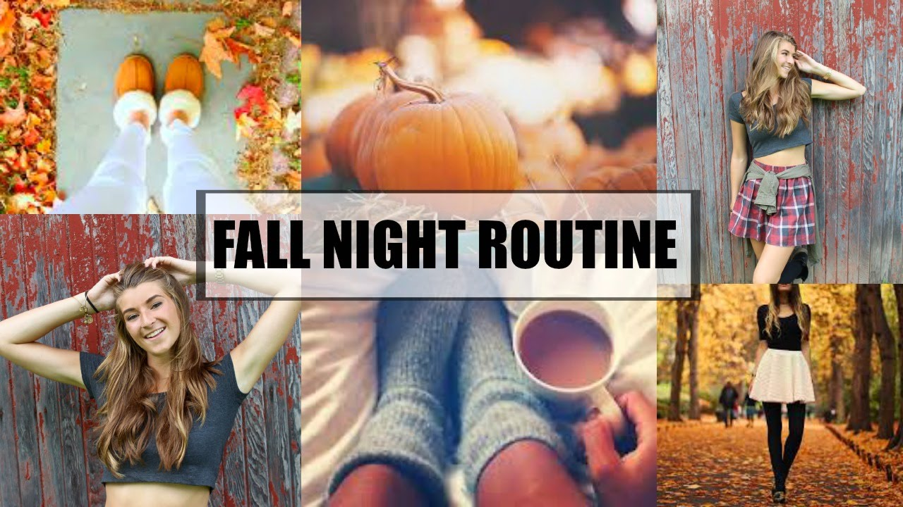 Night Routine -Fall Edition- - YouTube