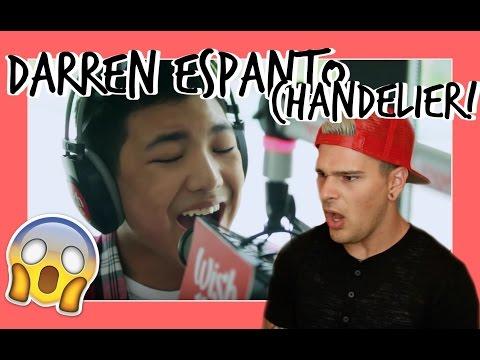 UNBELIEVABLE! Darren Espanto - Chandelier (Sia) LIVE Cover on Wish FM 107.5 Bus HD REACTION!