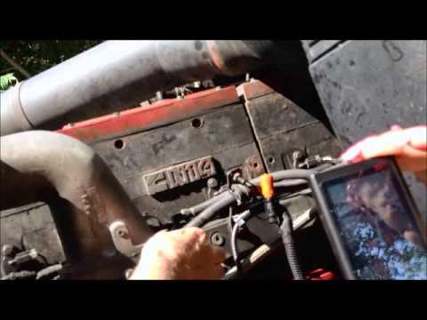Cummins N14 Celect Plus Wiring Diagram Boat Trailer 4 Way Engine Video Of Ecm Sensors - Youtube