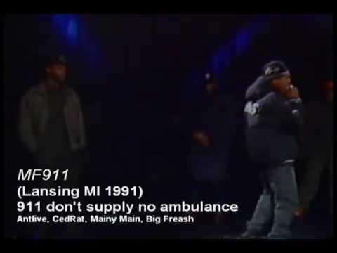 MF911 - 911 Don't Supply No Ambulance...