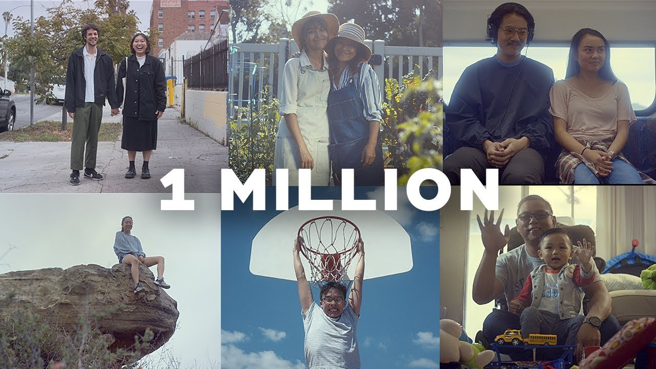 Thank You, All 1 Million Of You!