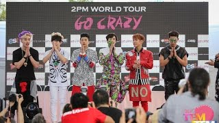 141010 2PM World Tour GO CRAZY in Bangkok Press 1/3
