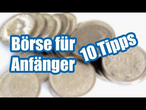Börse Für Anfänger Video | 10 Tipps Teil 2/2