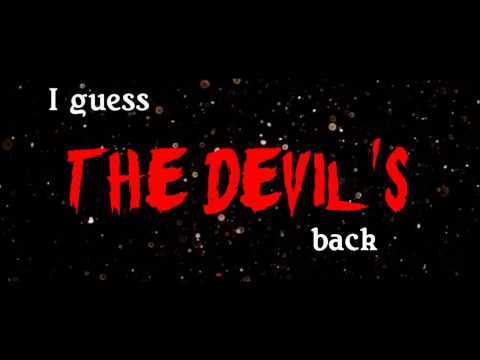 The Pretty Reckless - The Devil's back VIDEO (With Lyrics)