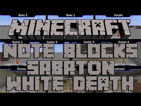Minecraft Note Blocks: Sabaton - White Death [Full Song]