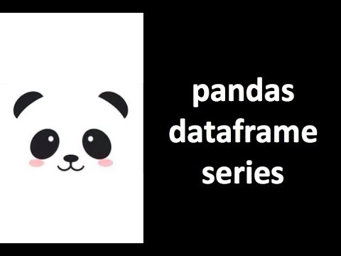 [Pandas Tutorial] What is Pandas, DataFrame, Series
