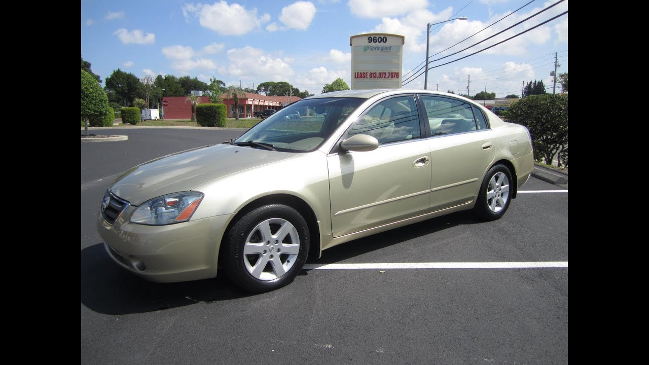 SOLD 2002 Nissan Altima 2.5 S CVTC 70K Miles Meticulous Motors Inc Florida  For Sale