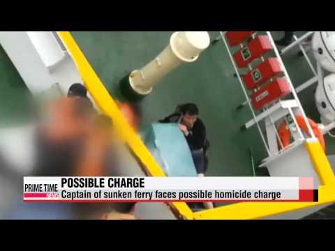 Investigators mull charging sunken ferry's captain with homicide