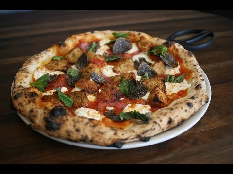Pizza with Beef Ravioli by Christopher Thompson of Coda di Volpe | Key Ingredient