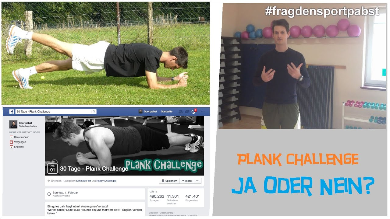 30 Tage Plank Challenge Pro Und Contra Youtube