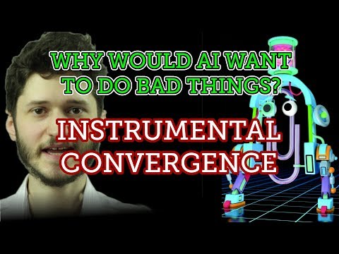 Why Would AI Want to do Bad Things? Instrumental Convergence