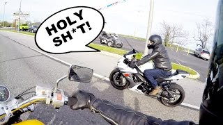 Dad Rides My GSXR 600 For the First Time - His Reaction