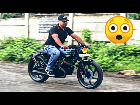 Modified Honda Unicorn Into Custom Cafe Racer (Indonesian Style) By McM Custom My Favorite CafeRacer