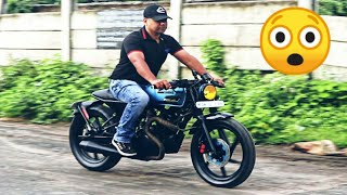 Modified Honda Unicorn Into Custom Cafe Racer (Indonesian Style) By McM Custom|My Favorite CafeRacer