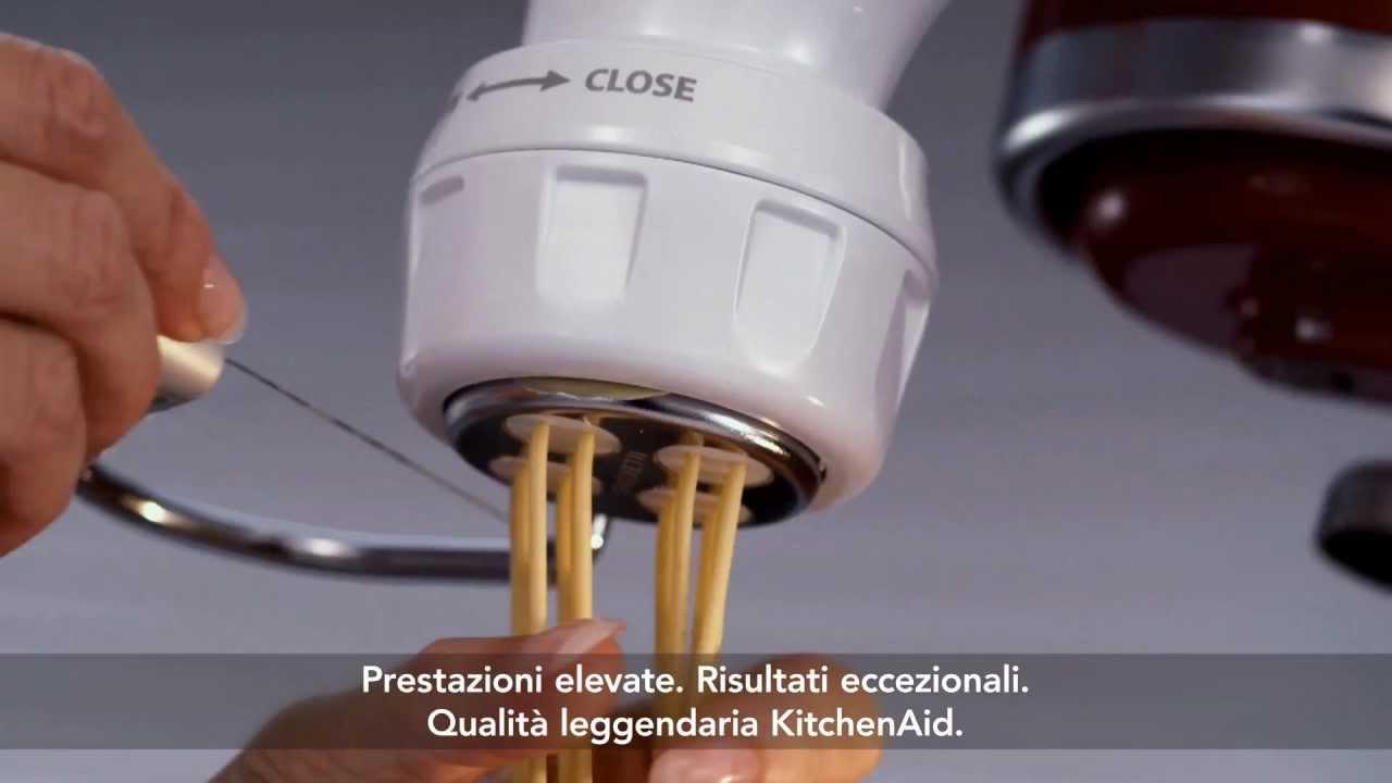 Kitchen Aid Video istituzionale Stand Mixer 4.8 litri con accessori ...