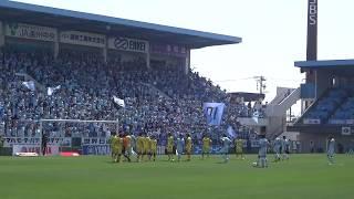 ジュビロ磐田VS柏レイソルinヤマハスタジアム 前半の雰囲気を撮影。 ジ...