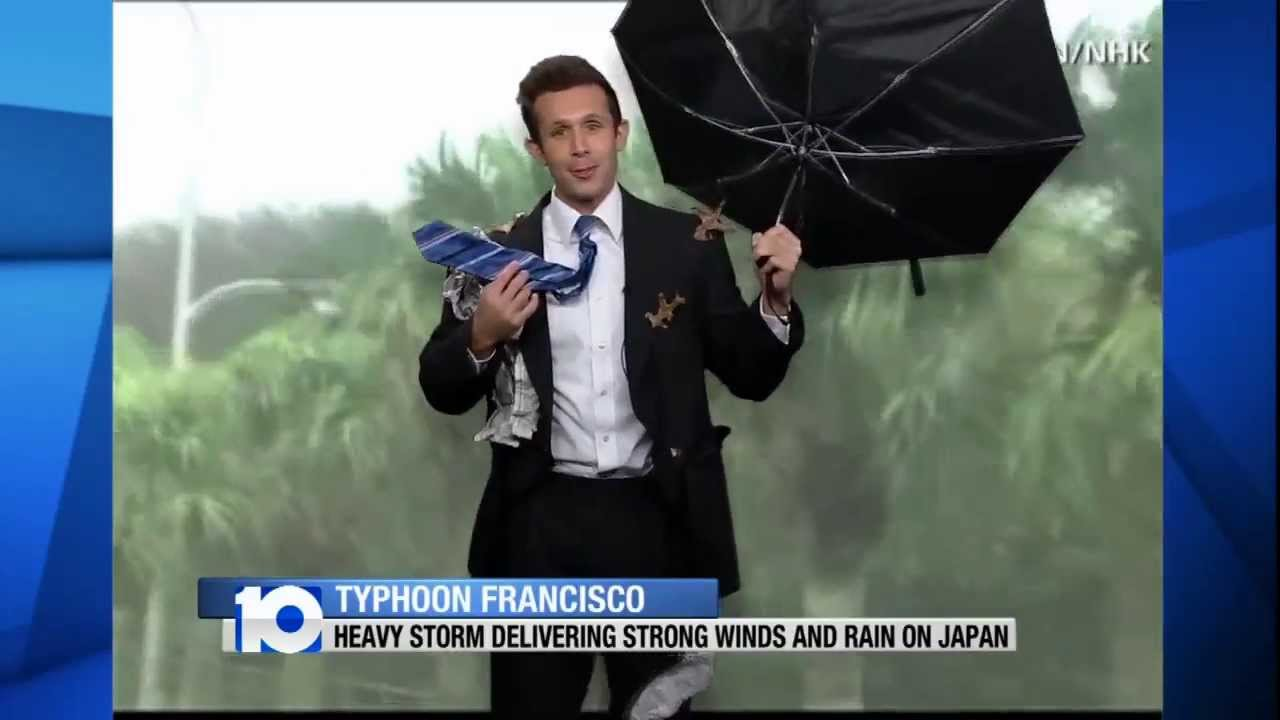 josh poland weatherman in the wind halloween costume youtube - Meteorologist Halloween Costume