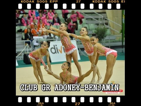 Club GR Adoney (CAN) Categoría Benjamin | Campeonato de España de Gimnasia Rítmica 2016 | Murcia