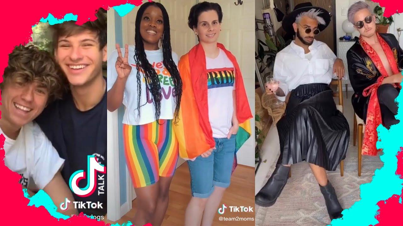 CUTE GAY COUPLE TIKTOKS #8 LGBTQ couples on TikTok