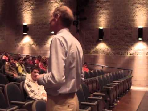 Steve Stageberg Presentation, Fall 2006, Fredericksburg Academy, Fredericksburg, VA