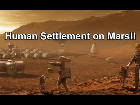 Life in a Mars Colony | Human Settlement on Mars!!