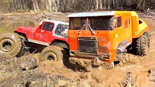 RC Cars MUD Racing Trucks 6x6 Get Out Stuck 4x4 Jeep, Land Rover Axial SCX10   Vol2   Wilimovich