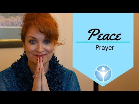Affirmation Meditation for PEACE - Rev. Shannon O'Hurley