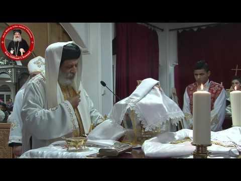 قداس الأنبا كيرلس والأنبا أباكير بكنيسة مارمينا السويد 25/12/16 Anba Kyrillos & Anba Abakir Liturgy