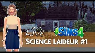 LIVE Sims | Science Laideur #1
