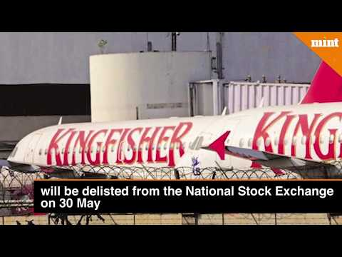 NSE To Delist Kingfisher Airlines, 17 Others From 30 May