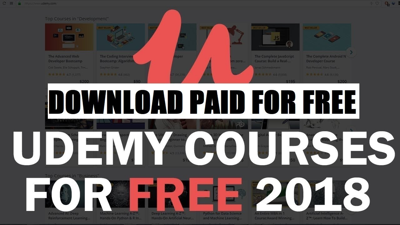 How To Get Paid Udemy Courses For Free 2018 100 Legal Method