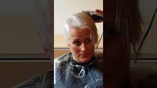 Rebecca does brave the Shave❤❤